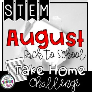 STEM At Home Back to School Activities | Distant Learning
