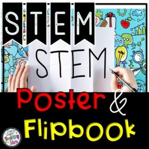 STEM Engineering Design Process Flipbook and Poster