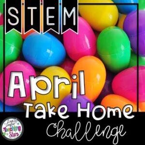 April At Home STEM Challenge