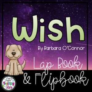 Wish Novel Flipbook and Lapbook