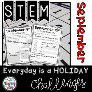 September STEM Daily Challenges