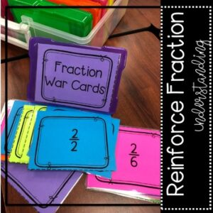 5th Grade Fraction War Math Game