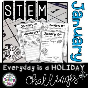 January STEM Challenge: Everyday is a Holiday