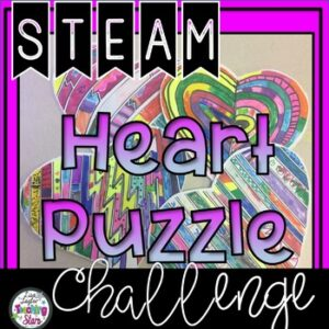 Heart Puzzle STEM Challenge