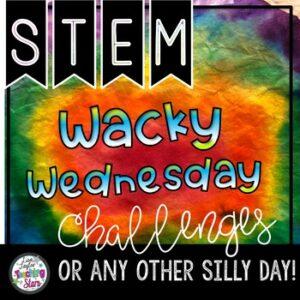 Wacky Wednesday STEM Challenges
