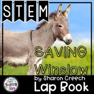 Saving Winslow by Sharon Creech STEM Challenge and Flip Book