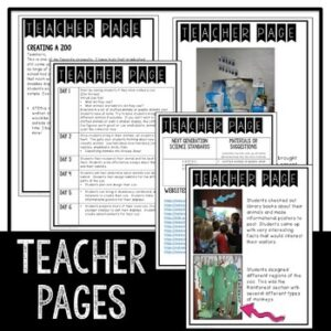 Project Based Learning | Creating a Zoo Model