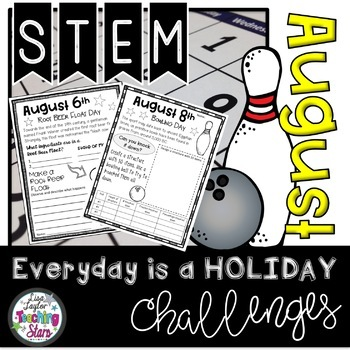 STEM Everyday is a Holiday Challenge August