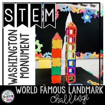 STEM Washington Monument World Famous Landmark