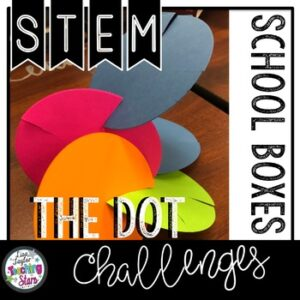 The Dot STEM Challenge with literature connection