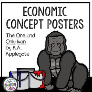 Economic Vocabulary Posters to use with The One and Only Ivan