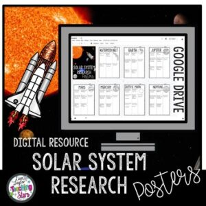 Digital | Space Research Posters | Google Classroom