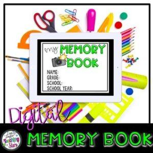 Digital Memory Book | Distance Learning | Google Slides