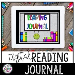 Digital Reading Journal | Google Classroom | Distance Learning