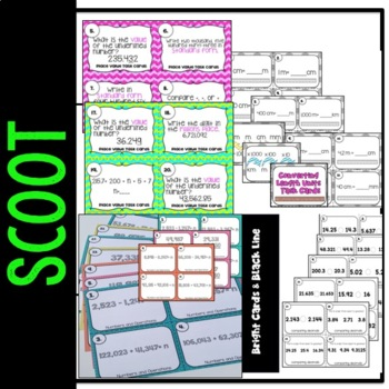 Scoot Math Task Cards