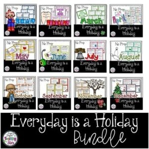 Daily Holiday Topics: Everyday is a Holiday Bundle