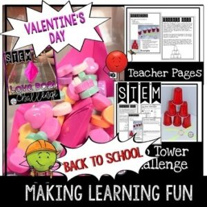 STEM for the Entire Year includes Winter Activities