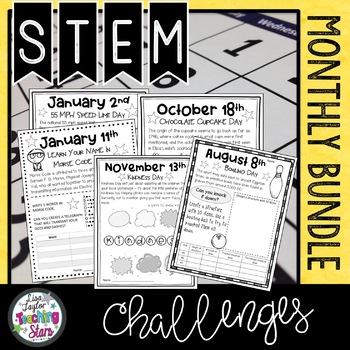 Everyday STEM Challenges Bundle