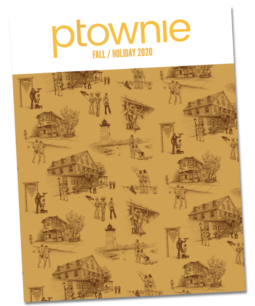2020 ptownie Fall Holiday Cover