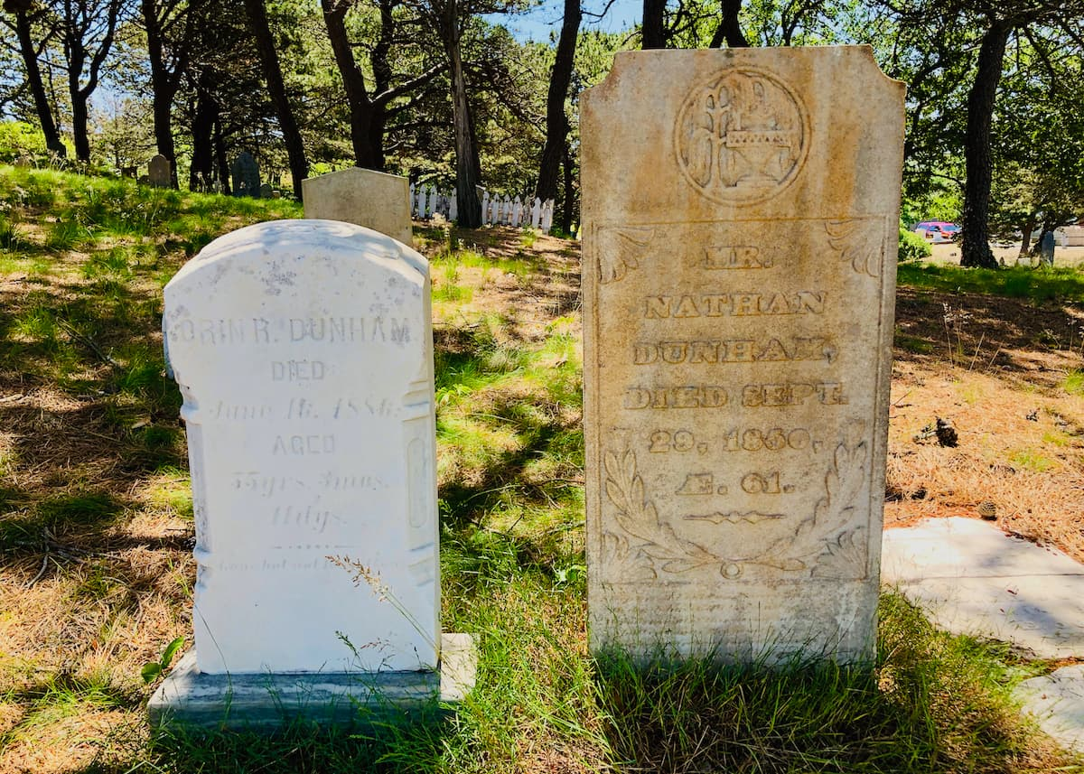 Housekeeping Among Grave Provincetown
