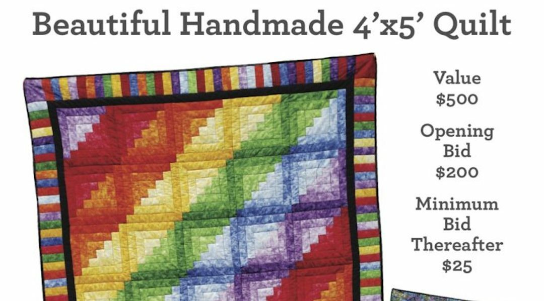 New Quilt Auction to Support WOMR!
