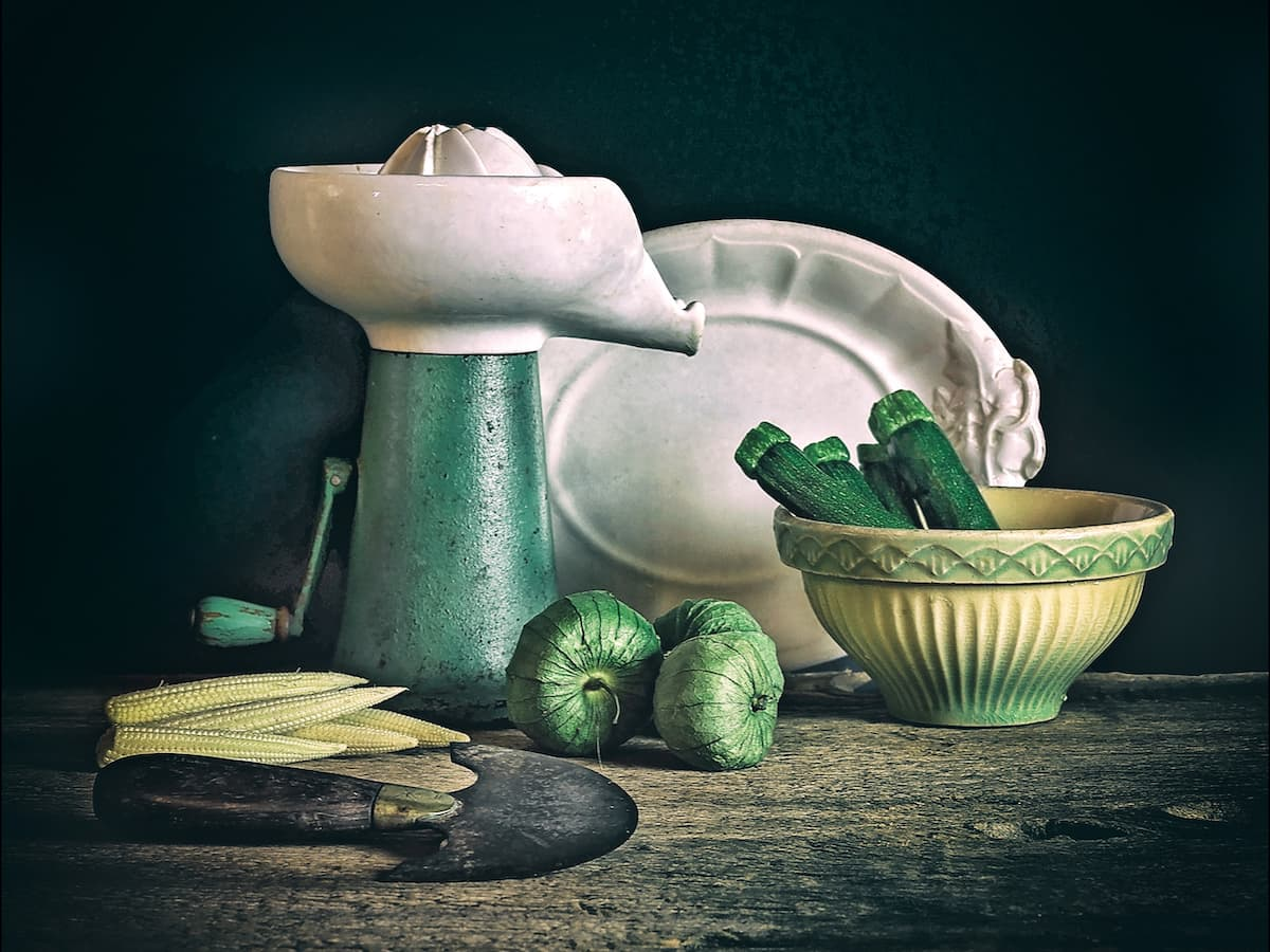 Ric Ide Still Photography Vegetables