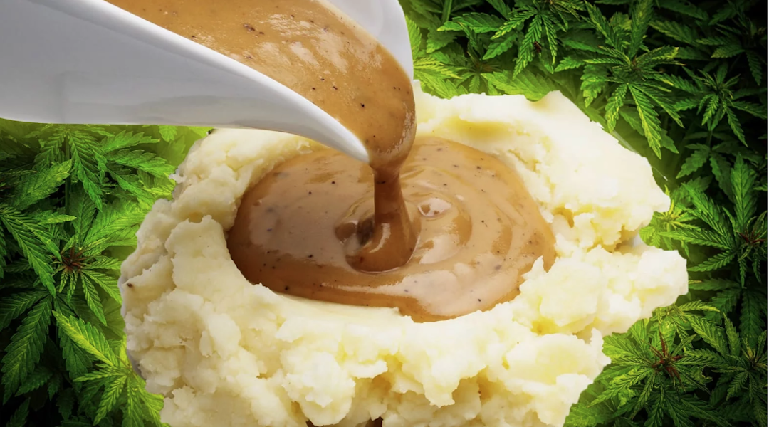 How to Survive Thanksgiving? Try Cannabis-Infused Gravy.