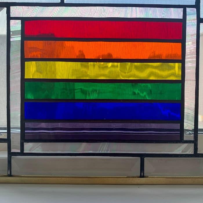 Taqwa Studios Rainbow Glass