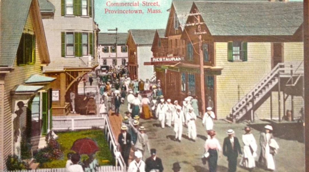 Ptown History Snippet: The Sidewalk