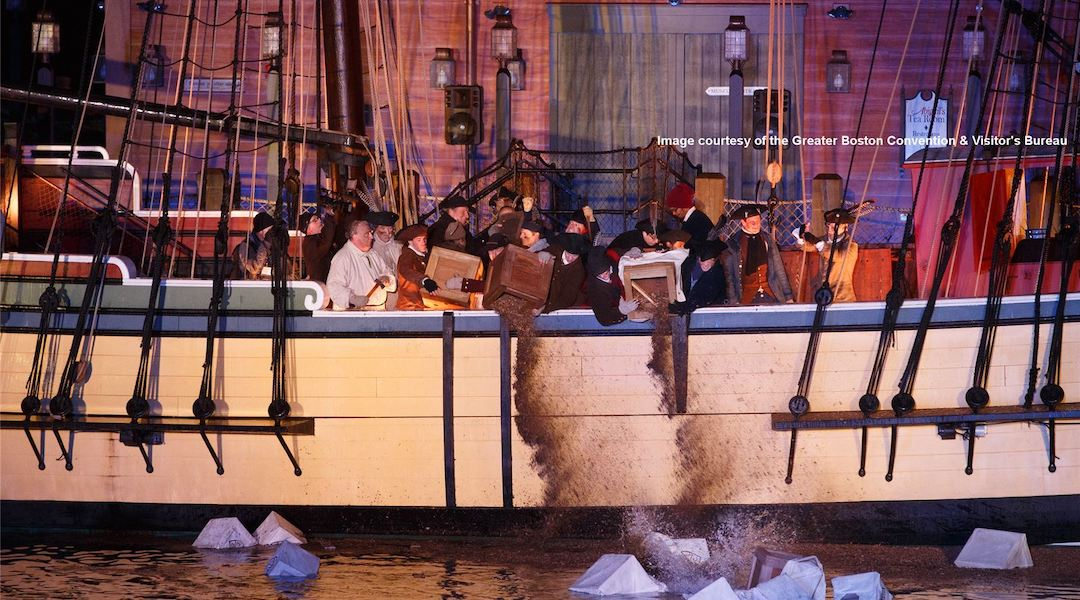 Provincetown Lost Tea Party Ship