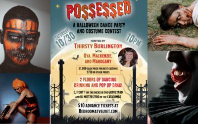 Huge Halloween Dance Costume Party