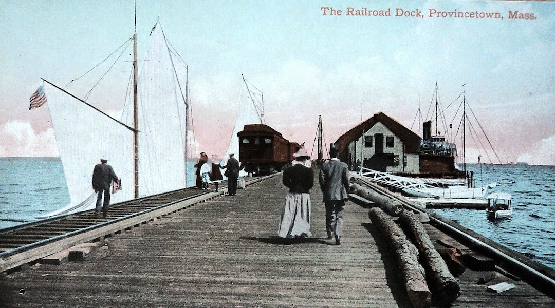 What was the History of The Ptown Wharves?