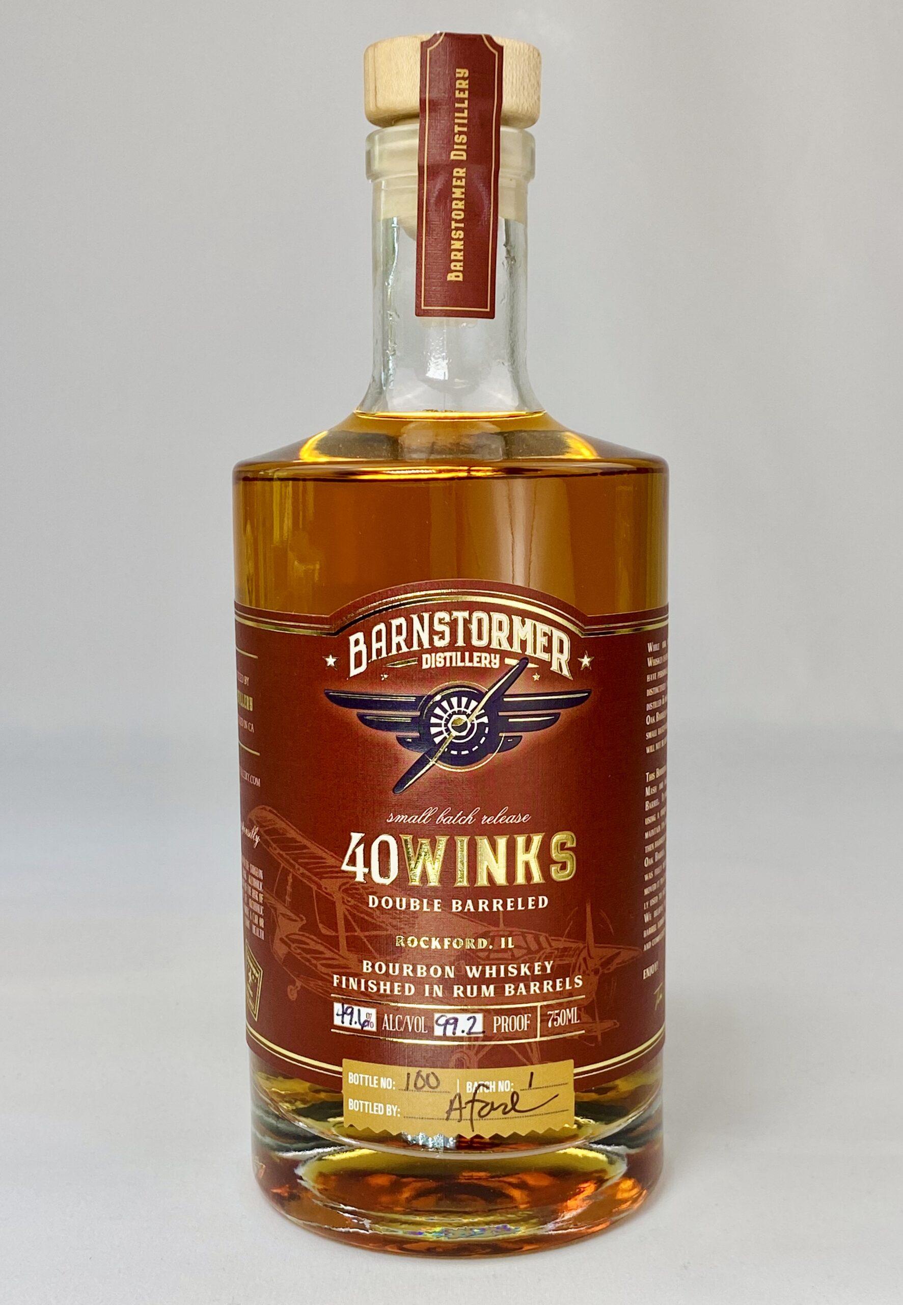 40 Winks Bourbon Finished in Rum Barrels