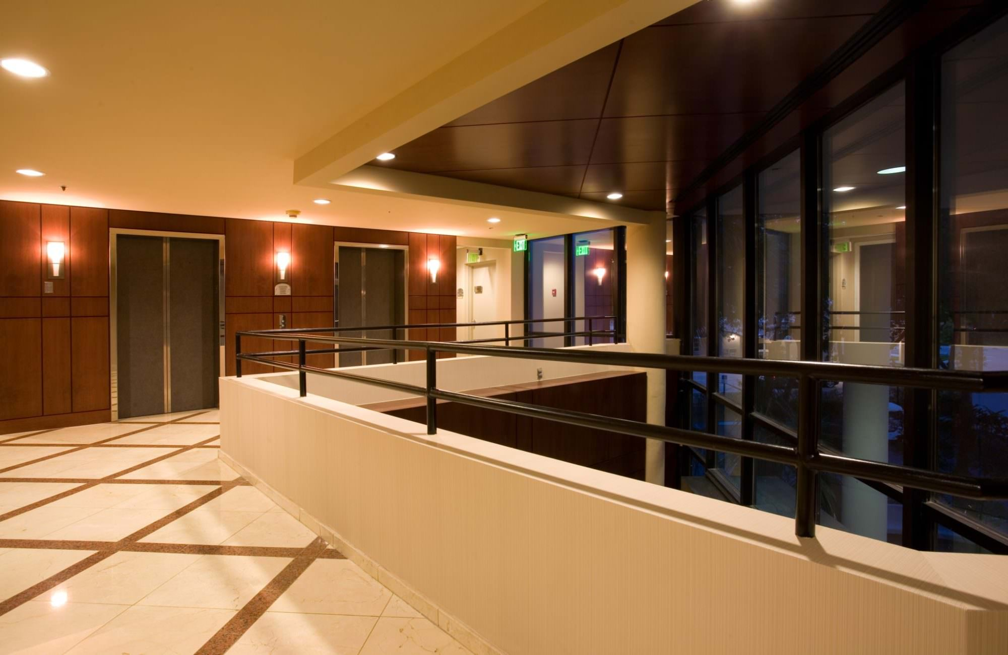 June 12th, 2012 - West Palm Beach, Florida: The 2nd Floor Lobby of the Horizons office building.