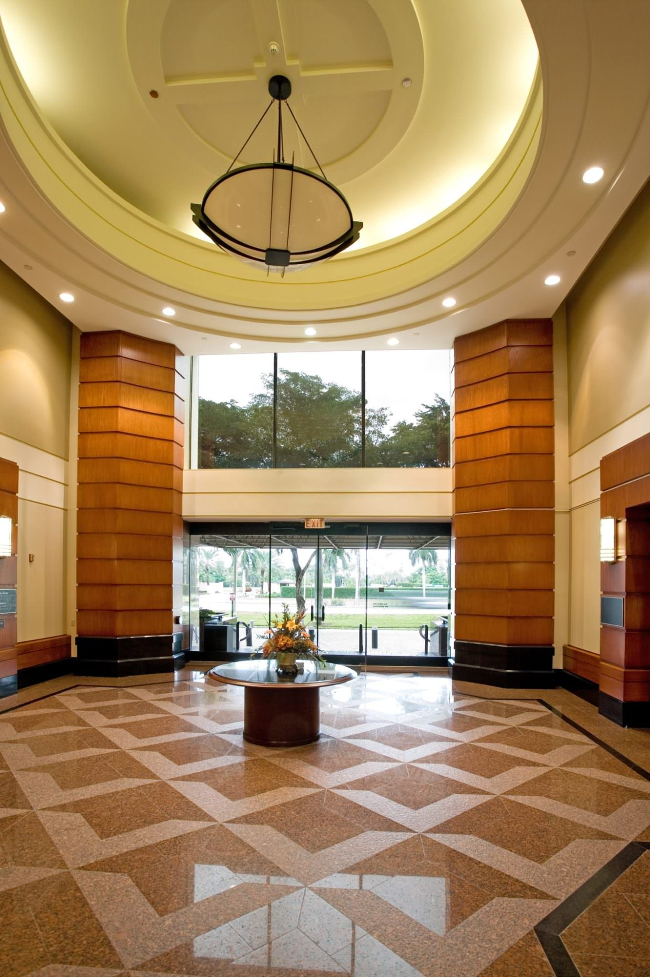 Oct. 17th, 2011 - West Palm Beach, Florida: The lobby of the Sabadell Building at 1645 Palm Beach Lakes Blvd. in West Palm Beach.