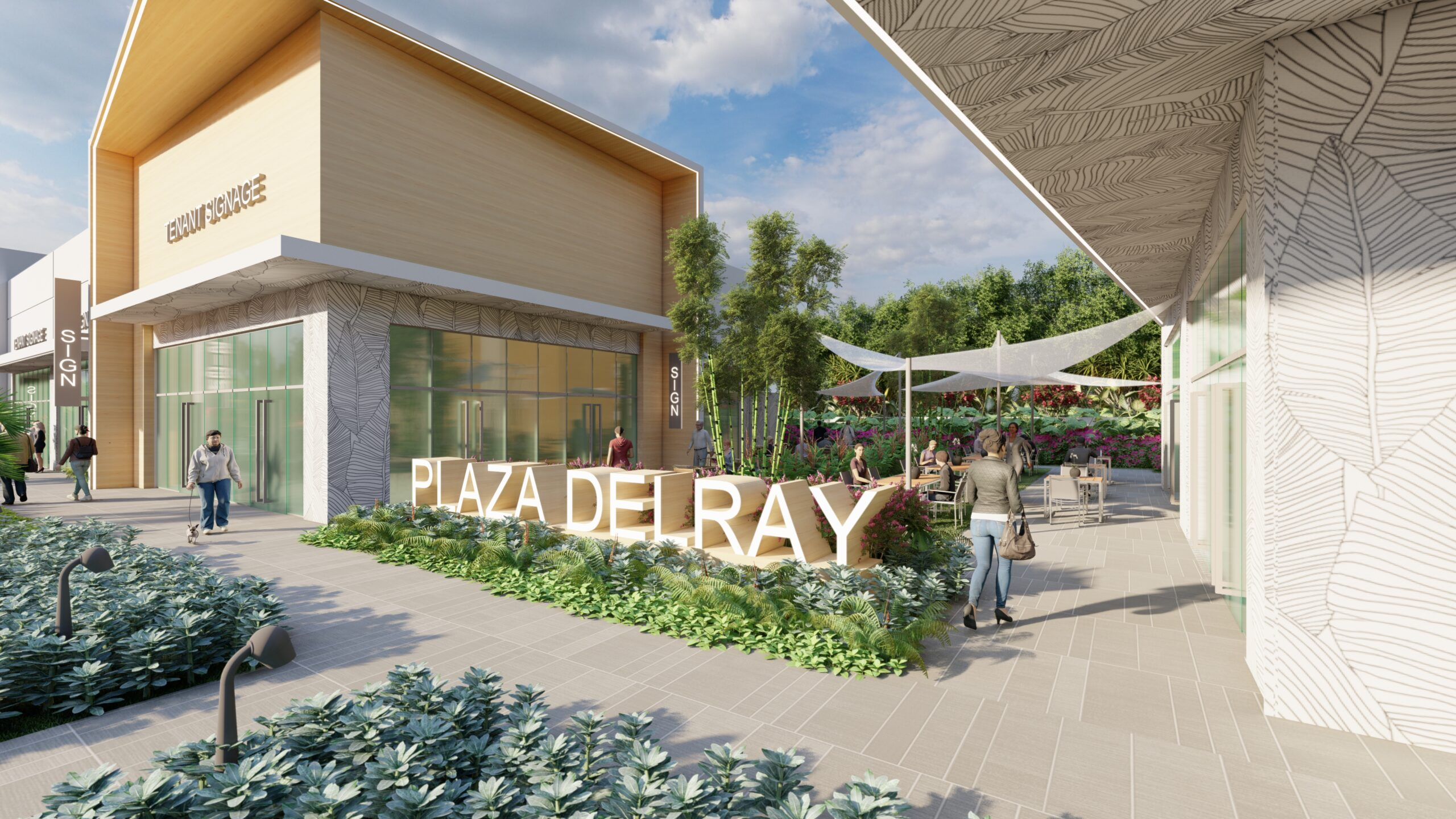 PEBB Enterprises Completes Several New Leases to Bring Plaza Delray to Full Occupancy