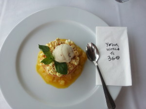 that popcorn mango creme brulee... one of my favorite meals this year, in Istanbul