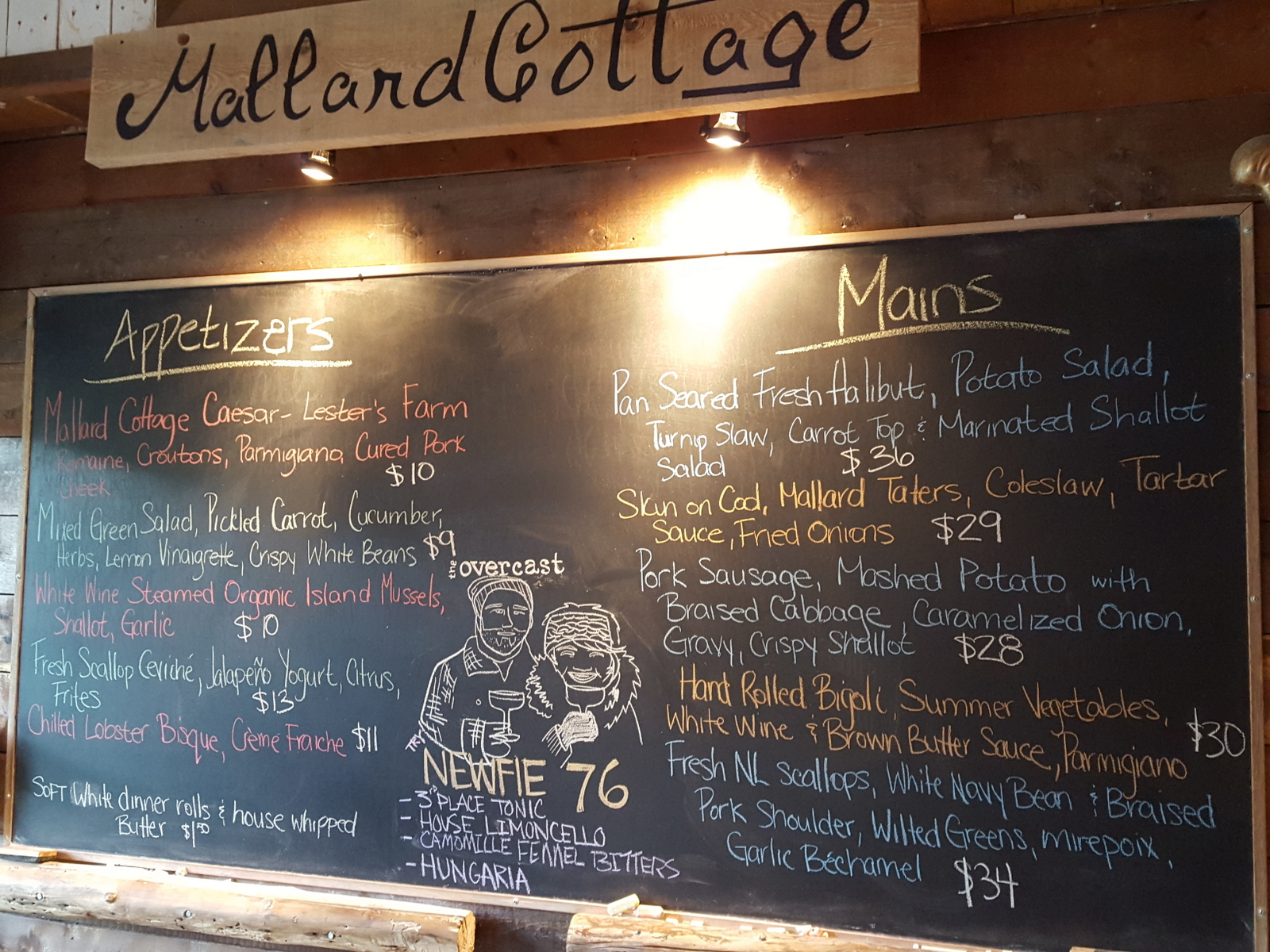 Mallard Cottage, St. John's, Newfoundland - one of my favorite places to eat this year!