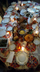 Thanksgiving Dinner - one of my best meals of 2015