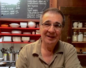 Chef Giovanni, The Harmony Cafe at the Pewter Plough - location of one of my best meals in 2015