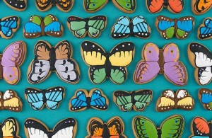 Eleni's New York butterfly cookies. i8tonite with Eleni's New York Founder & Food Entrepreneur Eleni Gianopulos