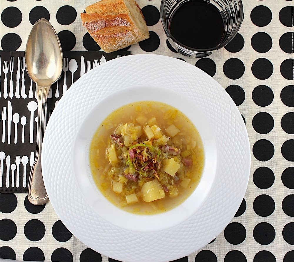 i8tonite with Author, Jam Maker, and Hotelier Jamie Schler & Leek and Potato Soup Recipe