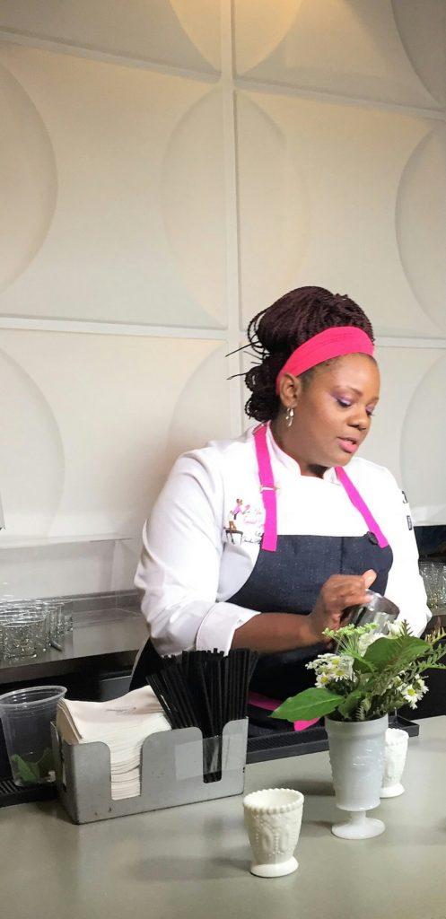 i8tonite with Chef Jennifer Hill Booker & Pimento Cheese Stuffed Potatoes Recipe