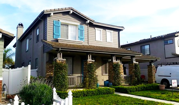 Residence Exterior Painting Ventura County