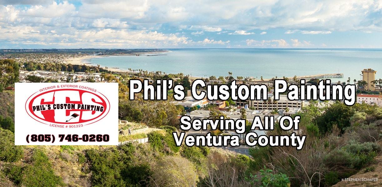 Phil's Custom Custom Painting Serving Ventura County