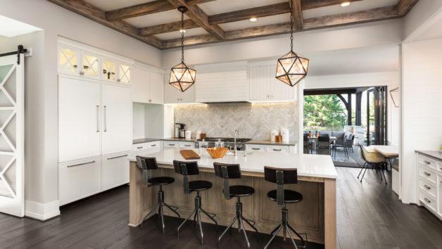 San Antonio white kitchen remodeling