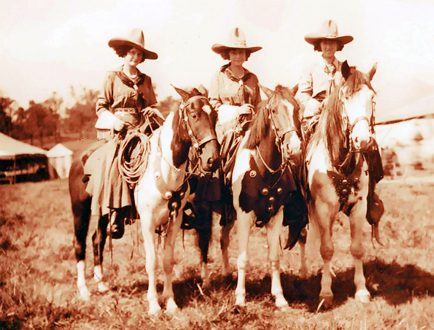 Pinto Cowgirls