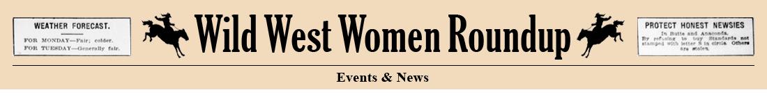 Wild Women Roundup - Events & News