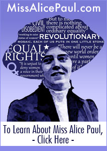 Learn More about Miss Alice Paul - missalicepaul.com