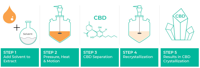 how-cbd-isolate-is-made-visual-chart